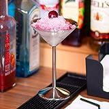 Martini Gläser aus Edelstahl 6 Unzen