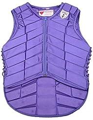 Chaleco Ecuestre Ropa Ecuestre Chaleco de Seguridad AD-049 Púrpura S
