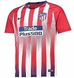 Nike ATM y NK BRT Stad JSY SS HM Camiseta, Unisex Niños, Rojo (Sport Red/White/Deep Royal Blue), XS