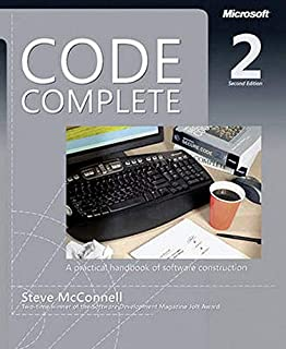 Code Complete: A Practical Handbook of Software Costruction (Dv Professional) (0735619670) | Amazon price tracker / tracking, Amazon price history charts, Amazon price watches, Amazon price drop alerts