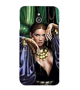 EPICCASE Loevly lady Mobile Back Case Cover For Infocus M2 (Designer Case)