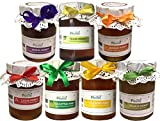 #5: Farm Naturelle-(Pack of 7x815Gms) Forest Flower Honey/Jungle Honey, Tulsi Flower Honey, Jamun Flower Forest Honey, Acacia Honey, Litchi Honey, Wild Berry/Sidr Forest Honey, Eucalyptus Honey