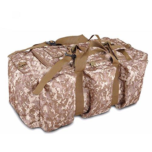 Zaino tattico all'aperto, impermeabile QMFIVE sacchetto di viaggio multifunzionale della borsa di grande capacità e della donna (SMMC) SMMC