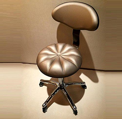 GAOJIAN Barhocker Synthetik Leder Verstellbare Swivel Bar Stühle für Haus Küche Büro -