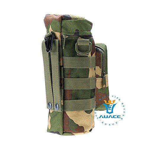 Multifunktions Survival Gear Tactical Beutel MOLLE Beutel Reißverschluss Wasser Flasche Tasche, Outdoor Camping Tragbare Tasche Handtaschen Werkzeug Tasche Reise Tasche MC