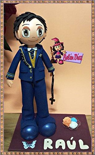 9d4251c12f7 Fofucha comunión niño Almirante 35 cms