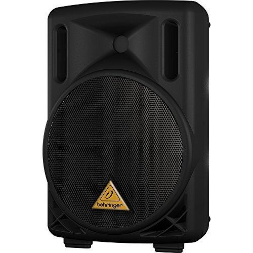 Behringer Eurolive B208D Cassa attiva amplificata diffusore DJ PA (50watt RMS - 200watt PEAK, a 2 vie, woofer da 18 CM, struttura in ABS)