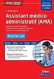Concours Assistant médico-administratif (AMA) 2018-2019 - Tout-en-un - Catégorie B - Branches Secrétariat médical et Assistance de régulation médicale...