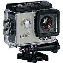 """SJCAM SJ4000 WiFi (versión española) - Videocámara deportiva (LCD 2"""", 1080p, 30 fps, sumergible hasta 30 m), color plata"""