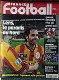 FRANCE FOOTBALL [No 2714] du 14/04/1998 - EUROPE BENARBIA - JOURNAL DU MONDIAL LIUS FERNANDEZ RACONTE GUADALAJARA 86 - DIVISION 1 - BATS ET LES DESSOUS DU PSG - LENS - TIGANA.