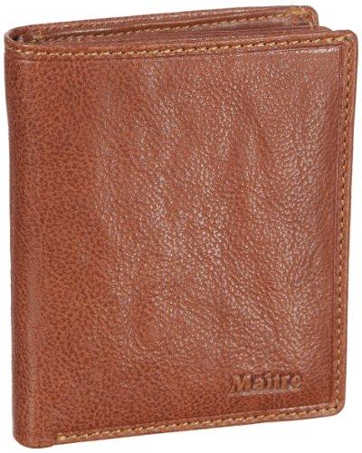 Maitre Dario Portemonnaie (HF) 06/32/01143, Unisex - Erwachsene Portemonnaies 10x12x2 cm (B x H x T) Beige (cognac 20)