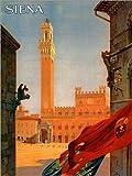 Poster 30 x 40 cm: Siena, Toskana in Italien von Travel