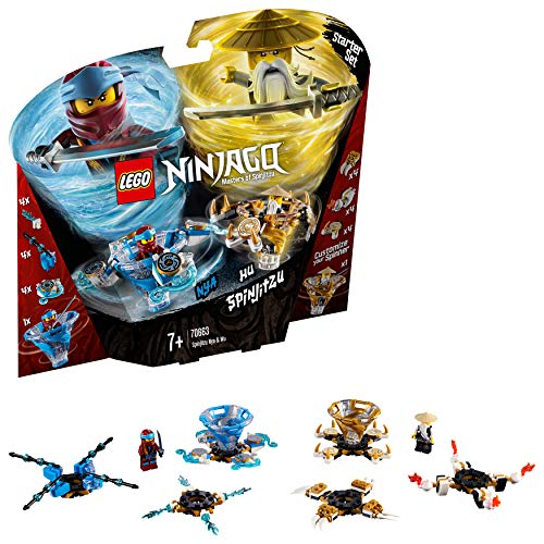 LEGO 70663 Ninjago Spinjitzu NYA and Wu Building Kit, Colourful Best Price and Cheapest