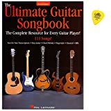 The Ultimate Guitar Songbook-Second Edition-Top Notch Resource for Every Guitarist, This 111-Song Collection assembles chansons dans tous Musical Genres and Guitar Styles-sammelband avec original Dunlop plek
