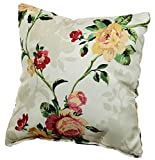 Palettenkissen Palettenauflagen Sitzkissen Rückenlehne Gesteppt (Deko-Kissen 50x50, Blumen 4)