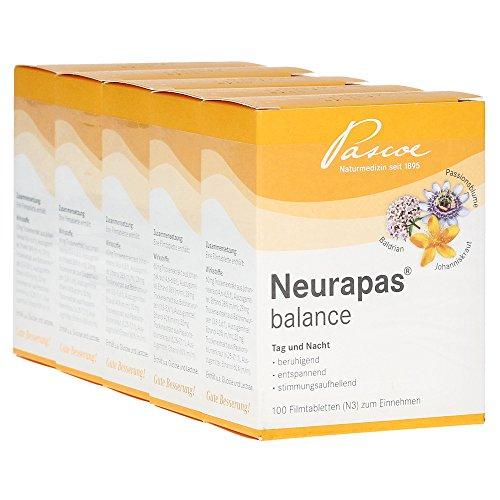 Neurapas balance | stimmungsaufhellend, entspannend & beruhigend | 5x100 St