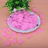 Künstliche Rosenblätter, ideale Dekoration für Hochzeit oder Party, 100Stück 6 verschiedene Farben erhältlich von Opuss., Seidenstoff, hellrosa, 5#