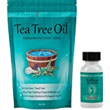 Purely Northwest Two Part Toenail Fungus System With Tea Tree Oil Foot Soak & ReNew Nail Treatment