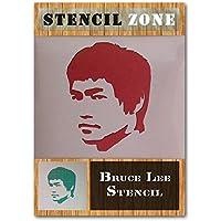 Bruce Lee artes marciales Mylar aerógrafo pintura de pared Art Crafts plantilla 1 A5 Size Stencil - XSmall