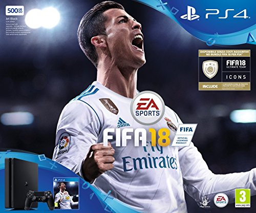 PlayStation 4 500 GB + FIFA 18 [Bundle]