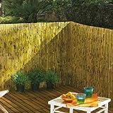 Intermas - Canisse haut de gamme de bambou 1 x 3 YANGTSE