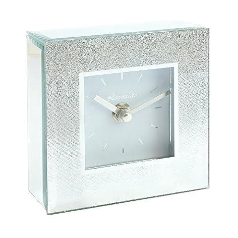 Silver Glitter Coloured Square