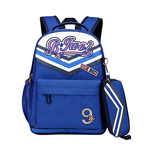 Schulrucksack Schulranzen Schultasche Sports Rucksack Freizeitrucksack Daypacks Backpack Für Mädchen Jungen & Kinder Grün Blau