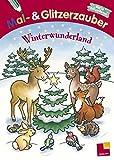 Winter-Wunderland: Ein Mal- und Glitzerzauber für Ferien