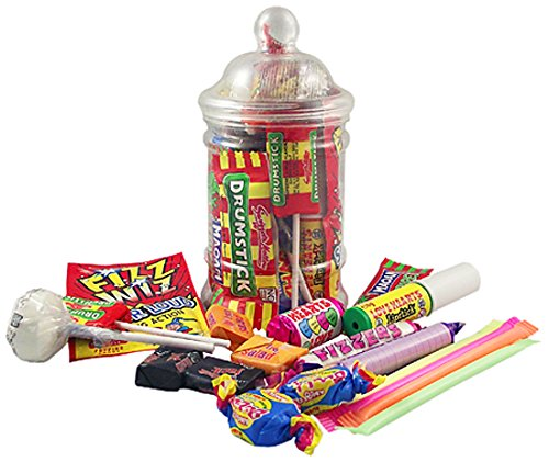 Leading Brands Retro Sweets Small Gift Jar (Pack of 2)