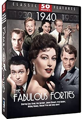 Fabulous Forties - 50 Movie Pack: D.O.A - His Girl Friday - My Man Godfrey - Second Chorus - This is the Army - Whistle Stop +