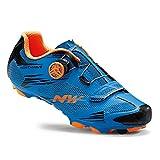 Northwave Scorpius 2 Plus MTB Fahrrad Schuhe blau/orange 2017: Größe: 43