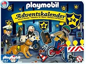 playmobil 4157 calendrier de l 39 avent 39 les policiers aux trousses des voleurs 39. Black Bedroom Furniture Sets. Home Design Ideas