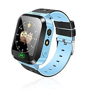 Smart Watch Kinder Armbanduhr Touchscreen Anti-verlorene Smartwatch Baby Uhr Mit Fernbedienung Kamera SIM Anrufe Geschenk für Kinder