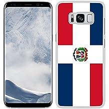 Funda carcasa para Samsung Galaxy S8 Plus diseño Bandera República Dominicana ...