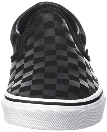 Vans VZMRFJH, Unisex Adults' Low-Top Sneakers, Black ((Checkerboard) black / pewter), 10 UK (44.5 EU)