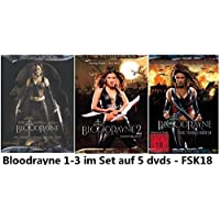 Bloodrayne 1-3 Set, Bundle, 5 dvds, Triologie, 1,2,3