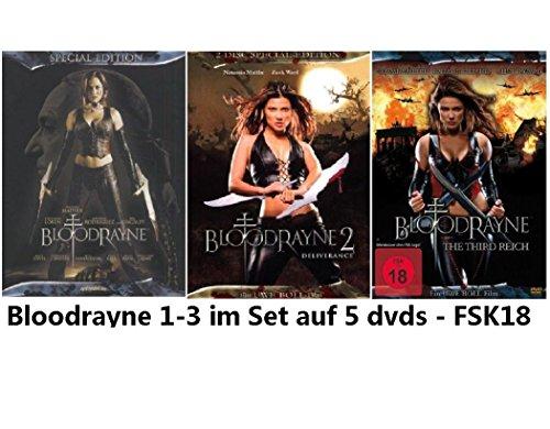 Bloodrayne 1-3 Set, Bundle, 5 dvds, Triologie, 1,2,3 (Clint Dvd-box-set)