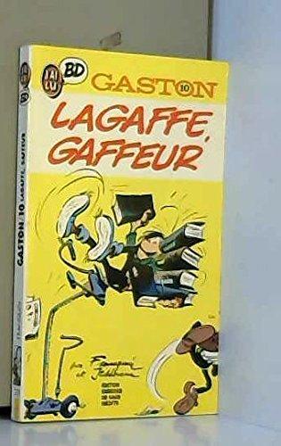 Gaston, tome 10 : Lagaffe gaffeur