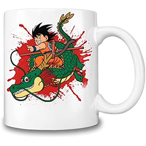 Kid Goku and Dragon Taza