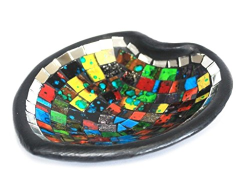 Moroccan Mosaic Heart Sm Potpourri Dish Moroccan Style Mosaic