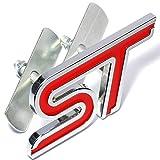 Garage-SixtySix Kühlergrillemblem ST Rot