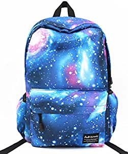 hubitowis unisex canvas backpack leisure school bag