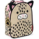 Skip Hop Zoo Lunchie Insulated Lunch Bag, Leopard, Brown/Pink