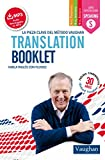 Translation booklet pocket
