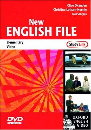 New English File Elementary. DVD (1): StudyLink Video Elementary level (New English File Second Edition)