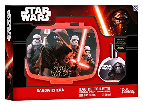 Air-Val regalo-set Star Wars /: contenitore per il pranzo (pranzo-box) + Eau de Toilette (di profumo) 30 ml - per bambini