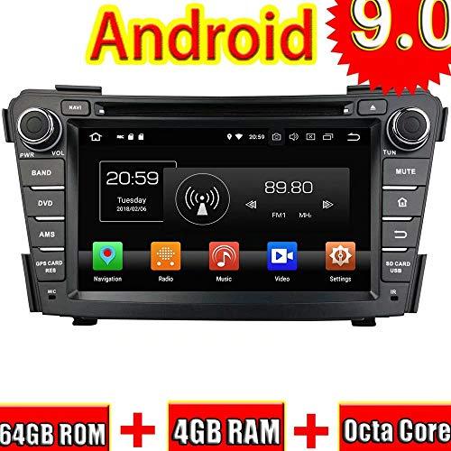 Indash 7 Zoll Auto DVD-Player Für Hyundai I40 2011 2012 2013 2014 Android 9.0 Radio Stereo GPS Navigation 3G WiFi Spiegel Link RDS FM AM Bluetooth (Hyundai Dvd-player)
