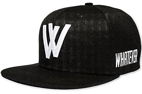 Whatever–avec logo brodé   variantes de couleurs et–Casquette de Baseball–Taille réglable–Casquette Snapback Chapeau Bonnet Cappy Casquette