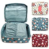 #4: Inovera Nylon Mesh Pocket Makeup Organizer Cosmetic Travel Pouch, Multi
