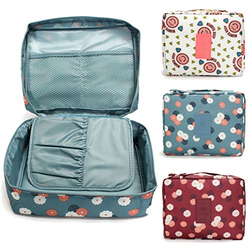 Nylon Mesh Pocket Make Up Organizer Cosmetic Travel Multi Pouch BY INSHINE